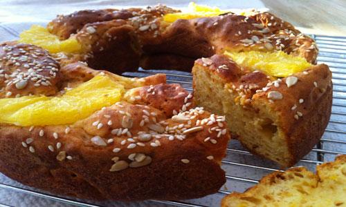עוגת תפוז נטולת גלוטן וסוכר