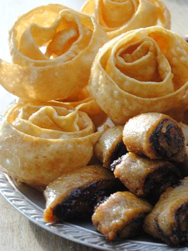 עוגיות הדבלה, המקרוד, והיויו