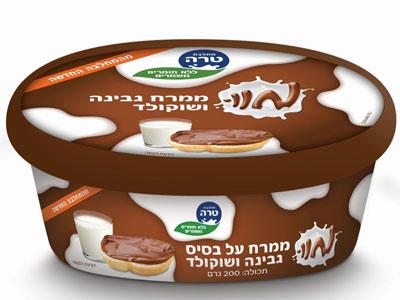 ממרח גבינה שוקולד