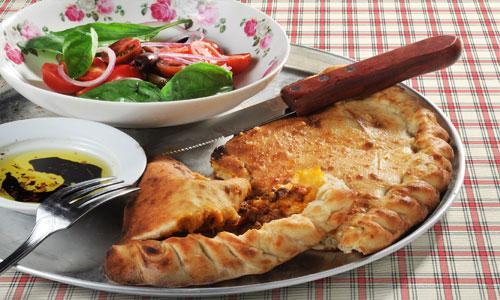 קלציונה -כיסני בצק עם בשר