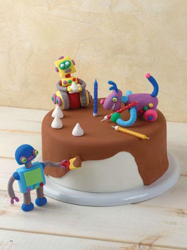 פיסול ועיצוב עוגת יום הולדת