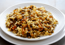 מג'דרה|אורז ועדשים