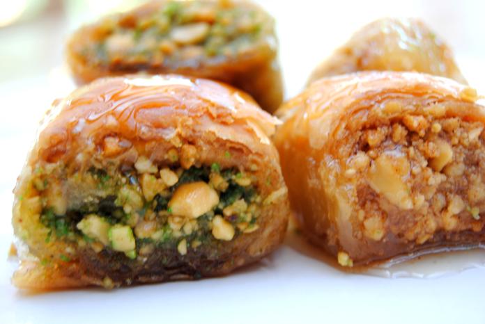 בקלאווה| עוגיות אגוזים