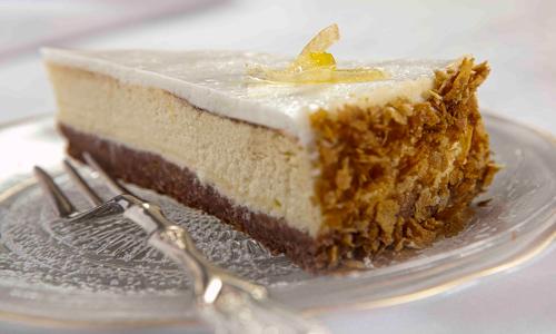 עוגת גבינה בניחוח לימוני