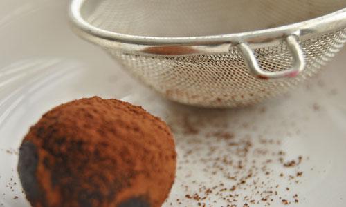 נפה טובה לבזיקה אחידה של אבקת הקקאו
