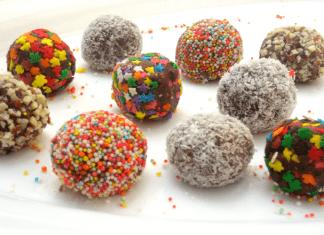 כדורי שוקולד קטנים ומטריפים