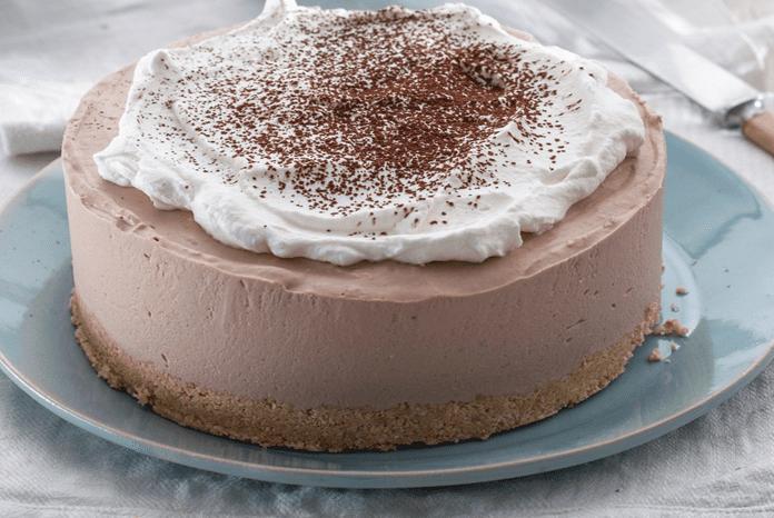 עוגת גבינה- שוקולד קרה