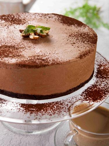 עוגת מוס ללא אפייה מיוחדת לחג