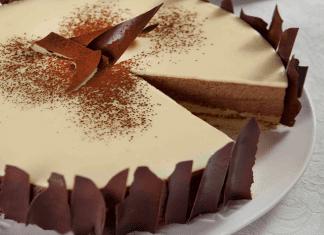 עוגת שוקולד וגבינה