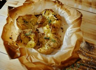 תפוחי אדמה מעוכים אש