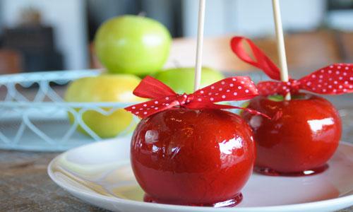 תפוח מסוכר אדום